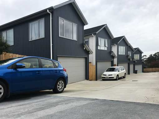 A new housing development in Auckland