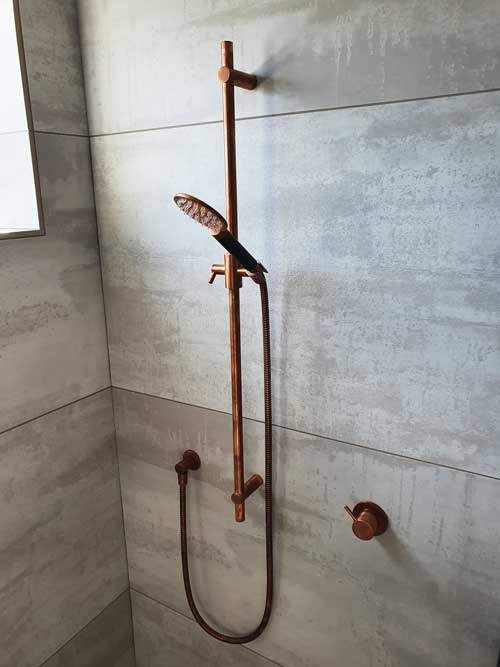 New build shower in Auckland